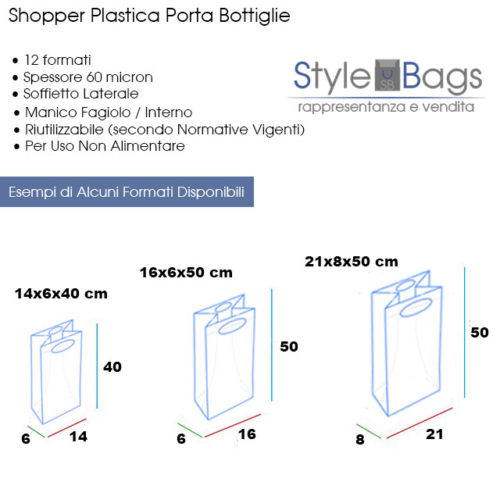 Style Bags - Fornitura Ingrosso Buste Plastica e Carta Online