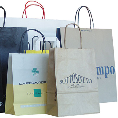 Shoppers in Carta Linea BEC - Medie/Grandi Dimensioni
