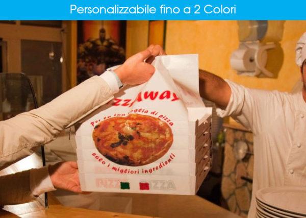 Pizza Away Personalizzabile fino a 2 Colori