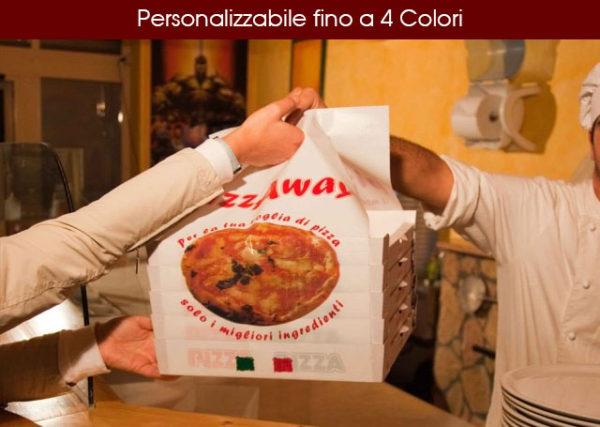 Pizza Away Personalizzabile fino a 4 Colori